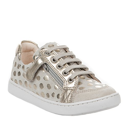 Baskets fille - SHOO POM - Beige - PLAY LO BI ZIP - Millim Beige