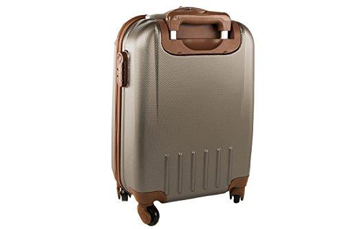 4105YAs27jL - Maleta rígida PIERRE CARDIN moro mini equipaje de mano ryanair