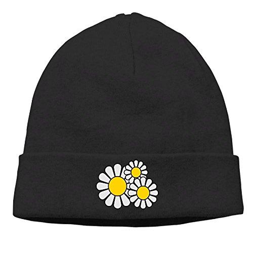 Jxrodekz Daisy Men Knitted Hats Winter Warm Caps Outdoor Sport Ski Cap -
