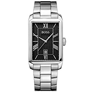 Hugo Boss 1512970 – Watch Men – Quartz Analogue – Silver Dial – Steel Bracelet Silver