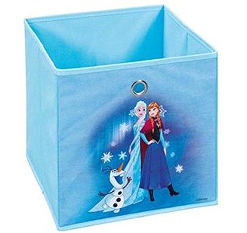 Bac de rangement pliable Disney II bleu, 32 x 32 x 32 cm -PEGANE-