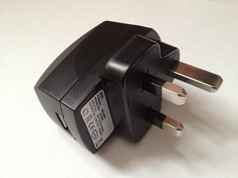 Santok STK USB Wall charger UK AC Mains Plug with USB Socket - UKP0001A