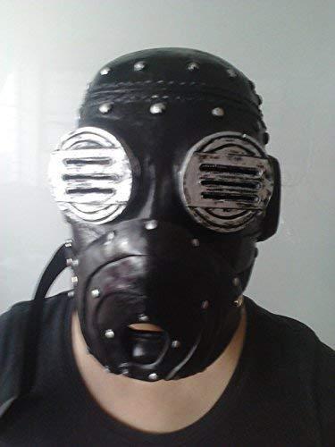 WRESTLING MASKS UK Sid Wilson De Luxe Fiberglas - Maske