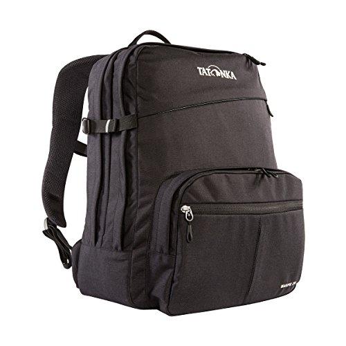 Tatonka Laptop-Rucksack Magpie 24-10 Jahre Produkt-Garantie - 15 Zoll Notebookfach - für Männer und Frauen - 24 Liter - schwarz