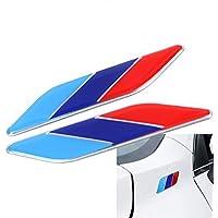 Dsycar 2 Unids/Pair 3D Metal Tricolor Insignia del Emblema de la Bandera para Universal Cars Motocicleta Car Styling Accesorios Decorativos