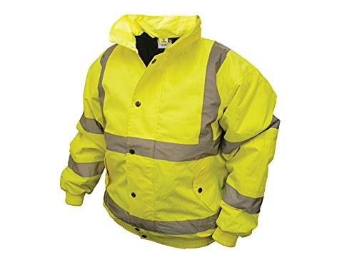 Scan-Hi-Vis-Bomber-Giacca-giallo-Large