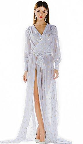 Missord - Robe - Décontracté - Manches Longues - Femme Blanc