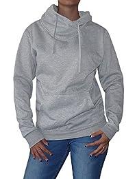 """Damen """"Kragen"""" Sweat-Pullover S&LU Größe M-XXL (36 38 40 42)"""