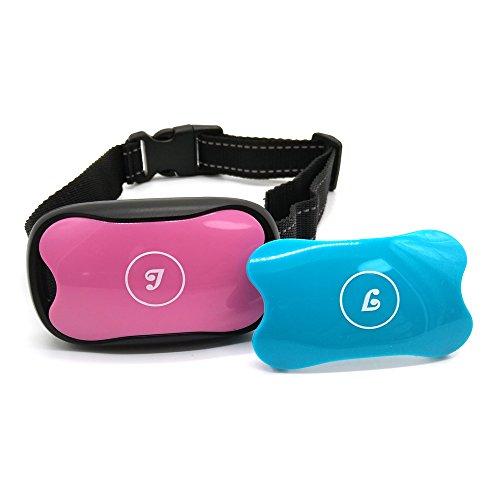 Collar anti corteza, Stop Dog Barking Collar, Sin Choque, Collar para entrenamiento de control de ladridos para perros pequeños, medianos y grandes, Sin dolor y seguro para evitar la corteza
