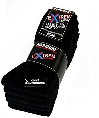 5 Paar Stabile Arbeitssocken von normani® - Socken - Ferse und Spitze EXTRA verstärkt - ohne gummidruck ! von normani bei Outdoor Shop