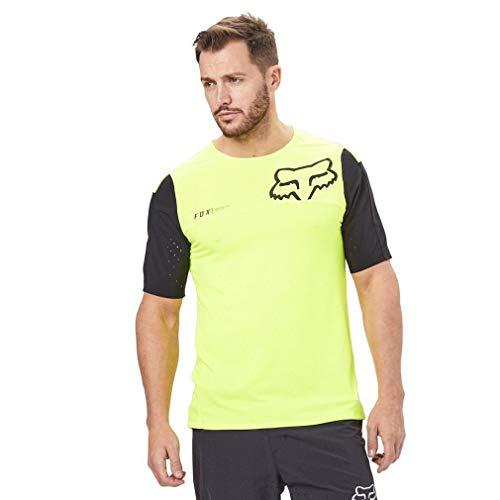 Fox Attack Pro Ss Jersey, Yellow/Black, Größe M Fox Attack Jersey