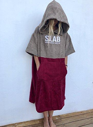 Slab-Poncho Toalla Garnet Talla M/L