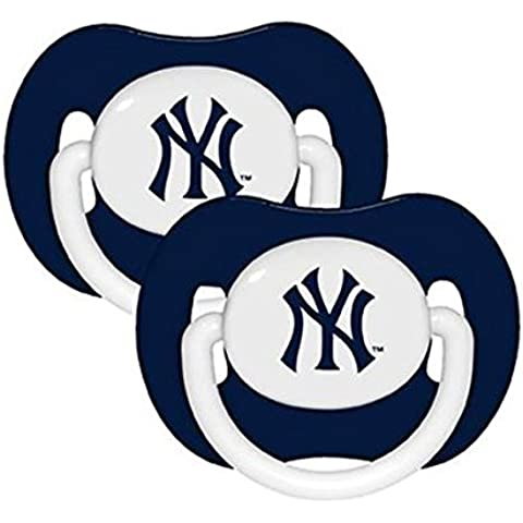 NEW YORK YANKEES Pacifier – Confezione da 2