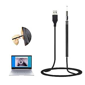 MZ Ohr Endoskop Ohr Ohrenschützer Ohr Spekulum 6 LED Endoskope 5,5 mm Gehörgang Reinigung für Windows/Mac OS