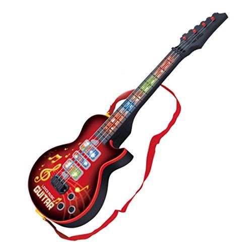 YVSoo Guitarra eléctrica para Niños, 4 Cuerdas Guitarra clásica Instrumentos Musicales Educativos...