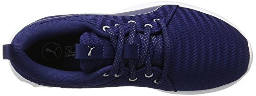 Puma Carson 2 Metallic, Chaussures Multisport Outdoor Femme Bleu (Blue Depths-silver)