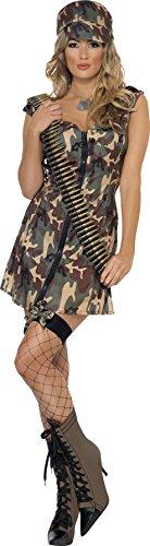 Imagen de zombie  disfraz de soldado para mujer, talla m 33829m