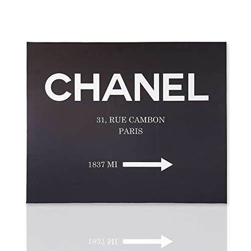 impressions-sur-toile-chanel-31-rue-cambon-paris-1837-mi-fond-noir-classique-pret-a-accrocher-cadre-