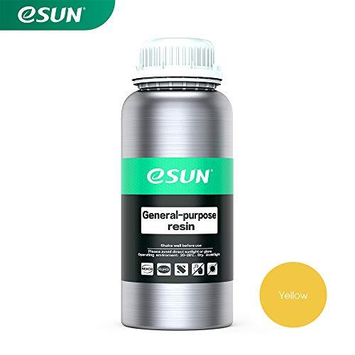 Standard-lcd (eSUN LCD UV 405nm Rapid Resin Standard Photopolymer Harz für Photon LCD 3D Drucker 1000ml Gelb)
