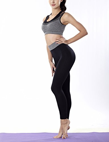 COCO TOE® Soutien-gorge Brassière de Sport femme Yoga Gym Fitness Musculation gray