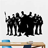 Super-héros sticker mural Marvel DC Comics vinyle autocollant Superman Batman vinyle sticker mural autocollant décoration de la maison 58 * 86 cm