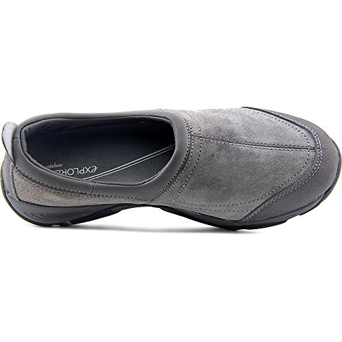 Easy Spirit EZ Stretch Large Daim Mocassin MGrey M