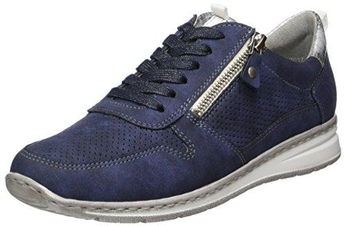 Jenny Damen Sapporo Sneaker, Blau (Indigo, Silber), 41 EU (9.5 US)