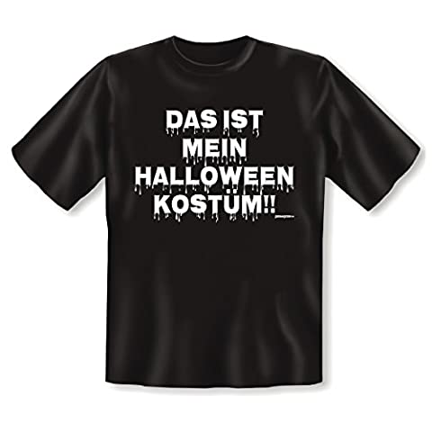 Halloween T-Shirt <-> Halloween Kostüm <-> gruseliges Mitbringsel zum Feiern und Grillen, Goodman (Fun Halloween-kostüme Für Arbeit)