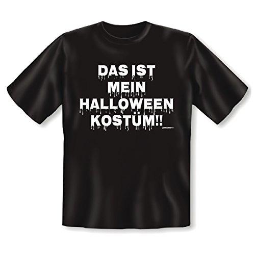 Halloween T-Shirt <-> Halloween Kostüm <-> gruseliges Mitbringsel zum Feiern und Grillen, Goodman Design®Schwarz (Friedhof Girl Halloween Kostüm)