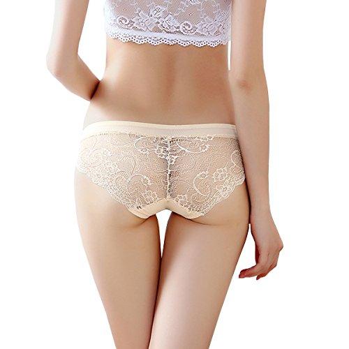 Dissa 2er Pack Z3010 Damen Panties Strings Tanga Beige