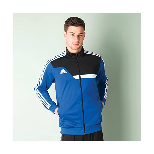 cheap price how to buy cute cheap adidas Herren Trainingsanzug Tiro 13, Schwarz/Blau, S ...