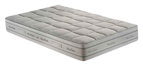 nicoflex-zeus-materasso-memory-poliuretano-cotone-argento-esclusiva-amazon-200x120x25-cm