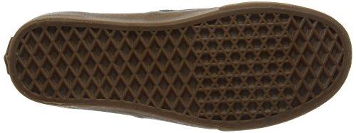 Vans Authentic Scarpe da Ginnastica Basse Unisex Adulto Grigio (Washed Canvas/Grigio)