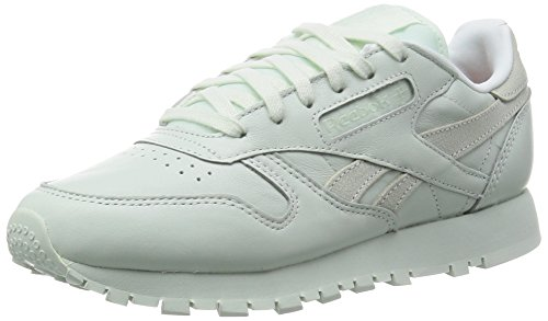 Reebok Classic Leather Spirit, Baskets Basses Femme Blanc - Weiß (mint)