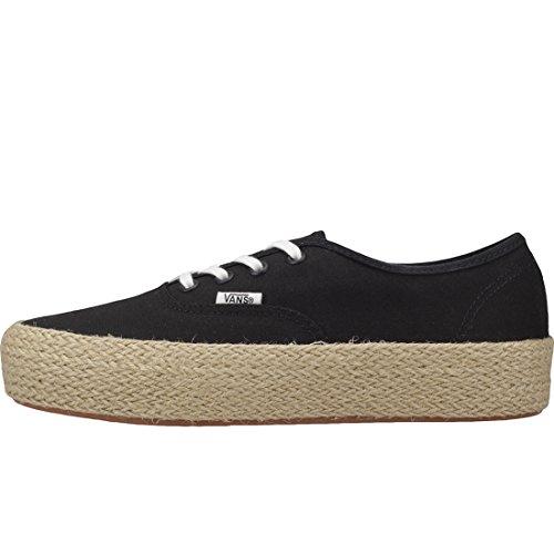 Vans Damen Authentic Platform ESP Sneaker, Schwarz (Black Blk), 36 EU