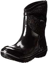 Ladies Bogs Insulated Wellington Boot Size UK 4-9 Plimsoll Mid Black 71543 001-UK 9 (EU 43)