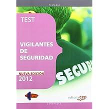 Test Vigilantes de Seguridad (Cuerpos Seguridad Y Simila)