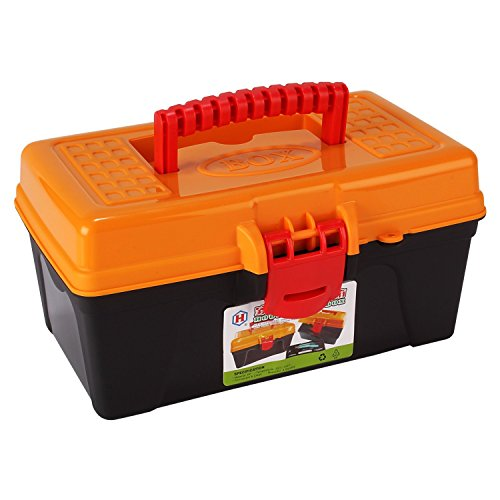 HOKIPO® Multipurpose Easy to Carry 2 Layer Storage Box Container...