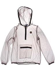 Gazechimp Manteau Anti-moustique Abeilles Maille Tissu Répulsif Veste équipement Nuit pour Pêche Camping Randonnée