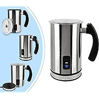 Leogreen - Espumador de Leche Automático, Calentador de Leche Eléctrico, 115mm / 3,88fl oz para espumar la leche, 240mm / 8,10fl oz para la leche de la calefacción, Material: Tritan, Estándar/Certificación: LFGB
