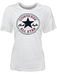 Converse - Core Solid Chuck Patch 10001124 weiß 102 Damen Skinny Logo T-Shirt