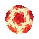 RayLineDo ® DIY Party Dekorations Puzzle Lampenschirm–Puzzle Lampenschirm–Deckenleuchte Lampe–Windmühle Form