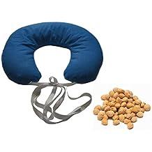 CORNETTO -Blu- Cuscino Cervicale Termico per Collo