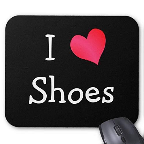 Amo Zapatos Alfombrilla ratón 18 Veces; 22 cm