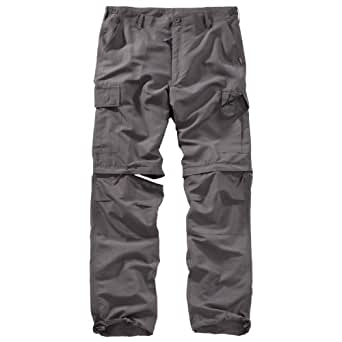 Surplus Outdoor Trousers Quickdry, anthrazit S