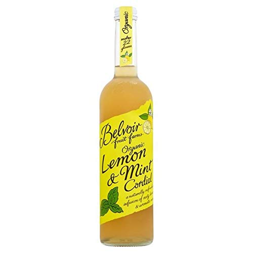 BELVOIR | Organic Lemon & Mint Cordial | 1 x 500ml