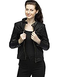 37653a7d62e Leather Women s Jackets  Buy Leather Women s Jackets online at best ...