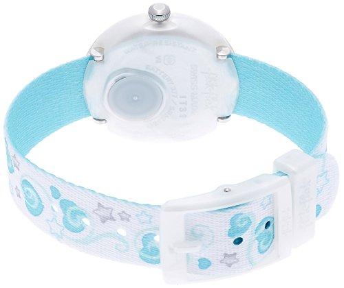 Flik Flak Mädchen Analog Quarz Uhr mit Stoff Armband FTNP005-STD - 2