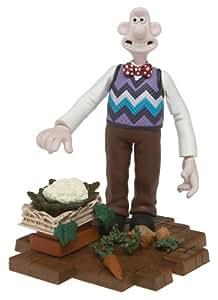 """Wallace et Gromit Figurine Action Figure Wallace """"Le mystère du lapin-garou"""" 15 cm"""