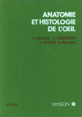 Anatomie et histologie de l'oeil